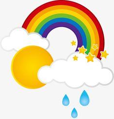 Cuadro en Lienzo Imagen tema del arco iris 2 • Pixers
