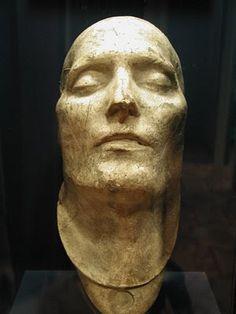 #oddities  Death Mask of Napoleon Bonaparte.
