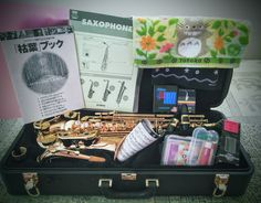 I'm so into alto sax ♪