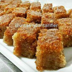 Image may contain: dessert and food Pretzel Desserts, Köstliche Desserts, Delicious Desserts, Sweet Recipes, Snack Recipes, Dessert Recipes, Cooking Recipes, Snacks, Turkish Sweets