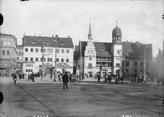 — The old townhall of Halle an der Saale.