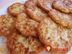 Lenivé cuketové placky so syrom a cesnakom: Výborný obed máte hotový za 10 minút!