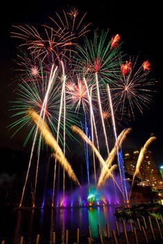 Bitan Firework Festival, Taiwan