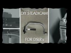 ▶ DIY Silver Flyer Steadicam for DSLR - YouTube