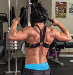 Bodybuilding.com - Delt Homicide: Dana Linn Bailey Shoulders Workout..... need to try this!
