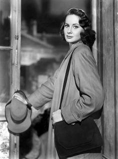 "Alida Valli in ""The Third Man"" (1949). Director: Carol Reed."