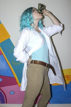 Female Rick. My own Rick and Morty Halloween costume!