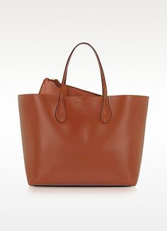 Rochas Leather Tote Bag