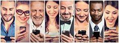 Znalezione obrazy dla zapytania peoples with smartphone