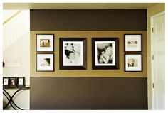 Wall photo display