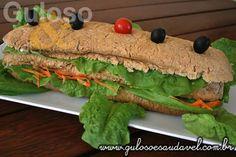 Fim de tarde preguiçosa por aqui... e eu só pensando neste delicioso Sanduíche de Frango para o #lanche  #Receita aqui: http://www.gulosoesaudavel.com.br/2012/07/17/sanduiche-frango/
