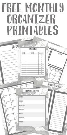 Free Organizational Printables! - Some of This and That Printable Planner, Free Printables, Easy Diy Projects, Projects To Try, Foxy Fix, Plastic Canvas Crafts, Free Items, Getting Organized, Budgeting