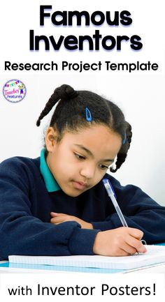 Famous Inventors Research Project | Research Project Template | This no prep Famous Inventors Research Project is full of graphic organizers and concise directions that will have your students using the graphic organizer templates to navigate and organize information. This pack of 12 Famous Inventors is aimed at Grades 2 - 4. #writingproject #researchproject #inventors #famousinventors #teacherfeatures #writing #2ndgrade #3rdgrade #graphicorganizers #backtoschool