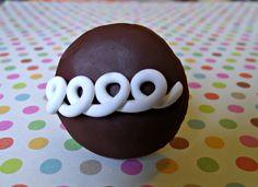 Drawer Knob Pulls Hostess Inspired Chocolate Cupcake