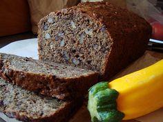 Low Fat Chocolate Zucchini Bread recipe – 76 calories Recipe Breads with zucchini, unbleached flour, whole wheat flour, splenda granular,…