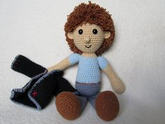 Every child (and not only a child) needs a friend to talk to, to share secrets and play with. Make such a friend with your hands full of love. Crochet a small Johny to be a best friend for your little one.    Detailed instructions and pictures help you to crochet all parts of the boy and put them together to complete the Johny.  Difficulty: suitable for beginners (however crochet basics needed)    All my patterns are available for download in English and German Material:    -Yarn with ca…