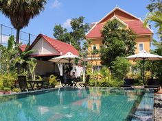 Siem Reap Sakara Boutique Villa Cambodia, Asia Located in Siem Reap Central Area, Sakara Boutique Villa is a perfect starting point from which to explore Siem Reap. Featuring a complete list of amenities, guests will find their stay at the property a comfortable one. Free Wi-Fi in all rooms, express check-in/check-out, Wi-Fi in public areas, car park, room service are there for guest's enjoyment. Guestrooms are fitted with all the amenities you need for a good night's sleep. I...