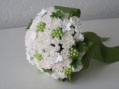 Купить Букет невесты - невеста, букет невесты, цветы для невесты, Свадебный цветок, белый