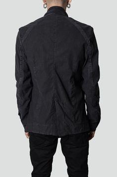 Preach | Cold dyed linen jacket | Orimono Berlin