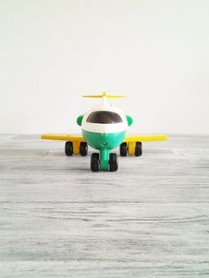 Vintage Fisher Price Little People Airplane by CocoAndBear on Etsy, $8.00