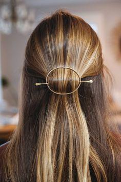 Metal Hair Clip, Gold Hair Pin, Metal Hair Barrette, Gold Filled Bun Holder, Brass Hair Slide Copper , Hair Clip Metal, Hair Jewelry by adorn512 on Etsy https://www.etsy.com/uk/listing/589116321/metal-hair-clip-gold-hair-pin-metal-hair
