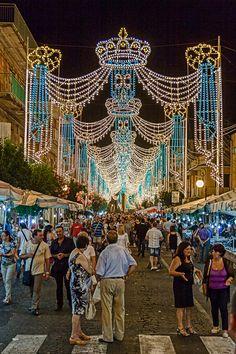 Festival of Madonna di Valverde, Sicily, province of Catania