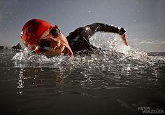 Photograph Triathlon Swim by KevinWinzeler.com  ~ sports, lifestyle on 500px
