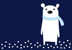 Polar Bear by Sara Strand, via Behance
