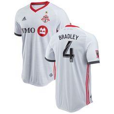 Michael Bradley Toronto FC adidas 2018 Secondary Authentic Player Jersey –  White 29e8634c1
