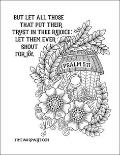 FREE PRINTABLE Christian coloring sheets with Bible verses. A new coloring sheet is posted every Friday. A great stress reliever and they look so pretty framed, from Bible Coloring Pages, Printable Adult Coloring Pages, Disney Coloring Pages, Coloring Sheets, Coloring Books, Scripture Doodle, Scripture Cards, Bible Verses, Bible Art