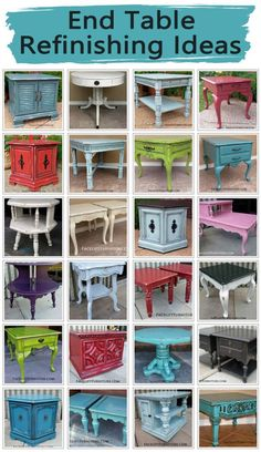 End tables are a great way to introduce the upstyled look up painted, glazed and distressed furniture into your home. Whether your choice of paint color is bold or neutral, end tables provide a unique pop of character to accent a living space. Our End Tables Collection offers many example of how these pieces may be …