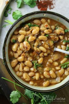 Mexican Charro Beans (Instant Pot or Slow Cooker) Several months ago I shared m. Mexican Charro Beans (Instant Pot or Slow Cooker) Several months ago I shared my recipe for Instan Slow Cooker Beans, Slow Cooker Recipes, Cooking Recipes, Crockpot Meals, Mexican Entrees, Mexican Food Recipes, Ethnic Recipes, Mexican Dishes, Recipes