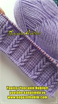 Tunisian Crochet Patterns, Cable Knitting Patterns, Knitting Stiches, Knitting Designs, Baby Knitting, Crochet Sweater Design, Crochet Instructions, Baby Girls, How To Knit