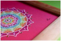 MANDALA OF FOURTH CHAKRA  (heart chakra) meaning: empathy, harmony, romance, love, kindness, wisdom, inspiration, humility, protection, stability  www.lapetien.com