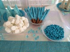 Frozen themed party food