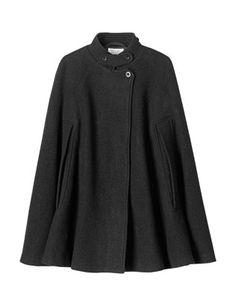 Love this cape style coat.