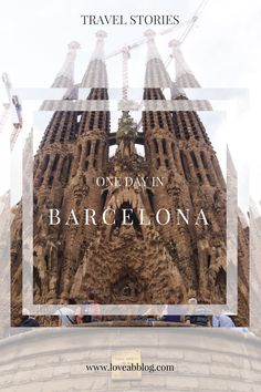 What can you see for one day in Barcelona? Read in Travel Stories on AB Blog. P.S. do you know that important part of my traveling is good food and tips for restaurant? Did You Know, Barcelona, Good Food, Traveling, Abs, Restaurant, Blog, Viajes, Crunches