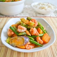 Pinakbet - Filipino Shrimp and Vegetable Stew