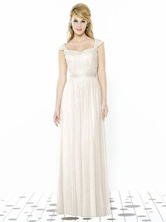 After Six Bridesmaids Style 6724 http://www.dessy.com/dresses/bridesmaid/6724/?color=ivory&colorid=114#.VNb8GubF-So