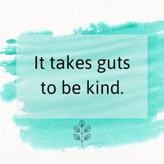 Let's all be kind to the people in our life, including strangers.