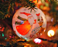 New for this year (2013).  I paid full price.  That is amazing for me.  I would rather get them on Clearance but I loved it.  It is a hand painted ornament from Pier One.