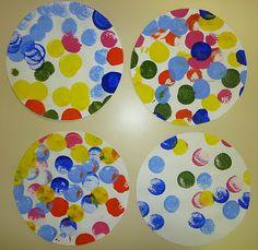 Yayoï Kusama en petite section Yayoi Kusama, Preschool Art, Craft Activities For Kids, Science For Kids, Petite Section, Art Projects, Projects To Try, Dot Day, Ecole Art