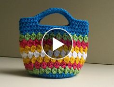 Hello my friends. Today I want to share with you this video tutorial of how to crochet a beautiful bag. This video is made by and explain you in minimal detail how to make this wonderful bag. Complexity: Advanced Beginner Hope… Source by katystoyan Crochet Bag Tutorials, Crochet Purse Patterns, Crochet Videos, Crochet For Beginners, Knitting Beginners, Bag Crochet, Crochet Handbags, Crochet Purses, Love Crochet
