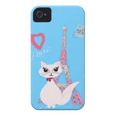 Cute I Love Paris cat