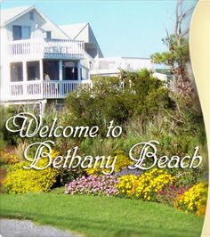 Bethany Beach, DE places-i-love Best Family Vacation Spots, Vacation Places, Family Trips, Bethany Beach Delaware, Fenwick Island, Go Usa, Beach Town, Beach House, Ocean City