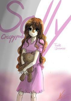 sally from creepypasta | FA )Sally creepypasta by Expofelementals