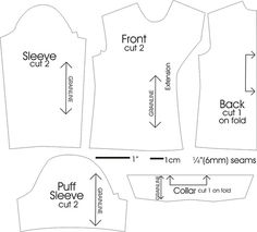 Shirt for Barbie and Similar-size Dolls by Dolls Ahoy, via Flickr