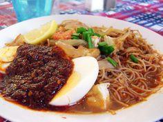 Mee Siam ~ Singapore Food