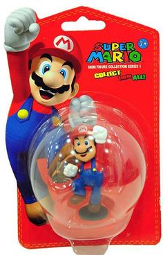 Mario - Super Mario Mini Figure Collection Series 1 (5cm)  Manufacturer: Together Enarxis Code: 011069 #toys #figures #Nintendo #videogames #Mario