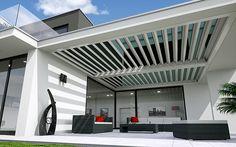Terrassenüberdachung von FLEDMEX unter | fledmex.com